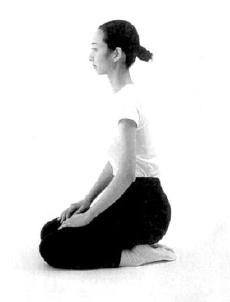 9. ábra - Seizában ülve, oldalról nézve