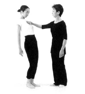 13. ábra - KI teszt eredménye púpos testtartásban. A könnyen kibillenthető