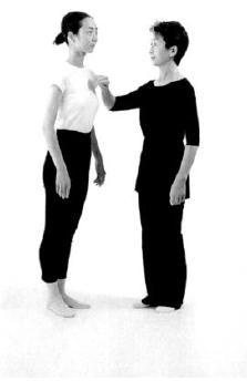 14. ábra - KI teszt helyes testtartásban,  állásban